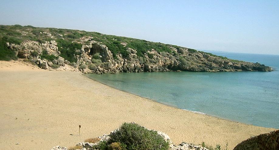 Calamosche con la sua sabbia finissima e il mare trasparente