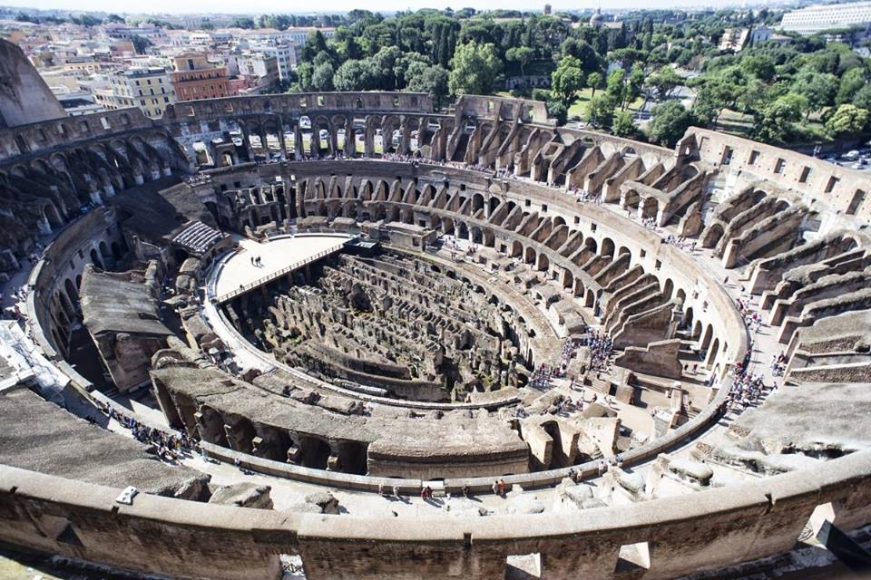 the colosseum as it is today