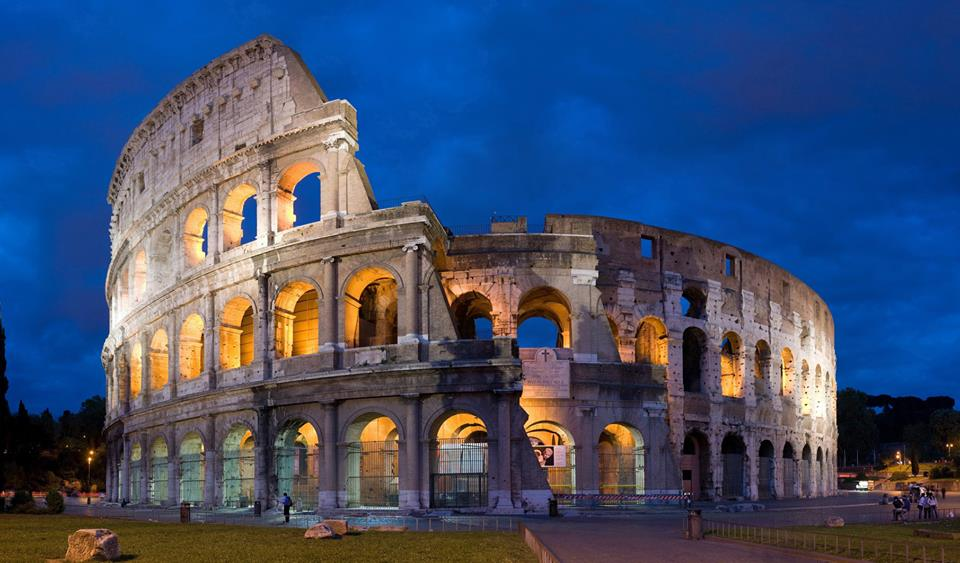 the colosseum is a symbol of Rome