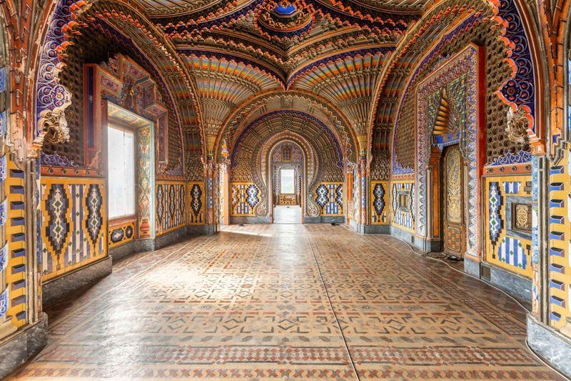 Castello di Sammezzano - Corridoio