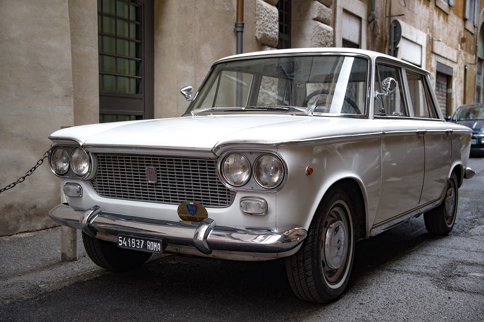 fiat - image of a restored car