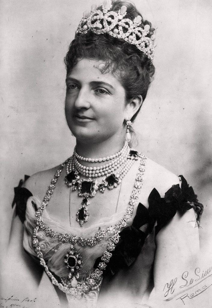 la pizza - immagine della regina Margherita