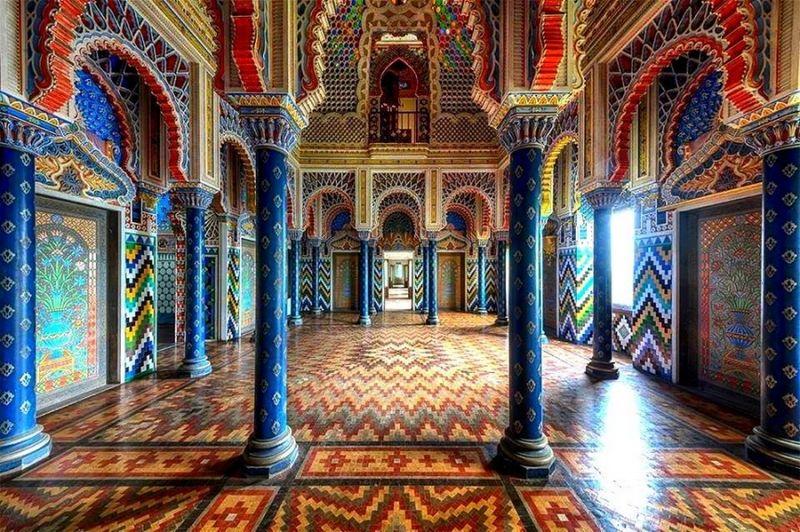 Castello di Sammezzano - Sala deli Pavoni