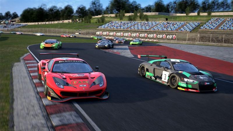 Assetto Corsa Competizione game sequence