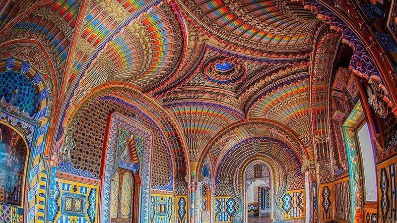 Castello di Sammezzano - Sala del Pavone