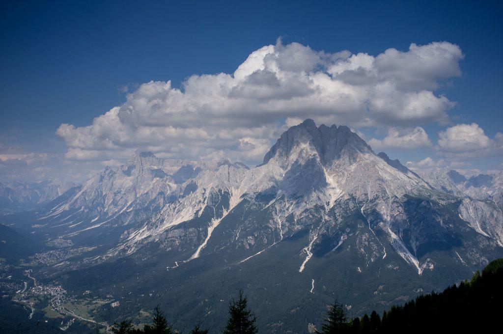 Messner Museum Monte Rite. Image of the summit of Cibiana di Cadore