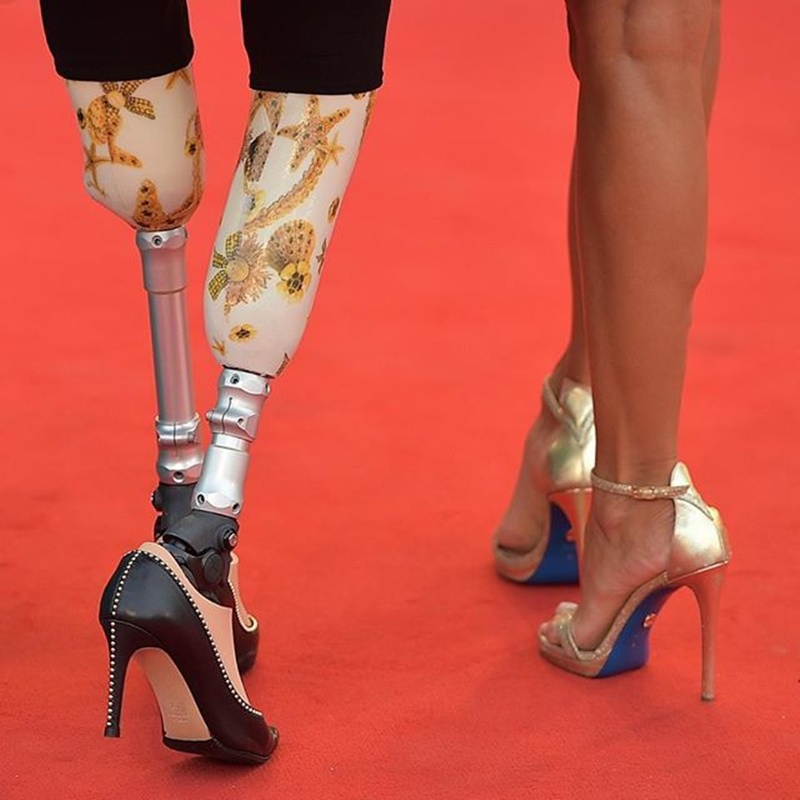 Alessandra Mastronardi - Giusy Versace in Venice