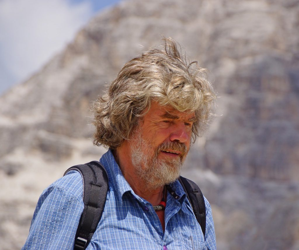 Messner Museum Monte Rite. Photographs by the well-known mountaineer Reinhold Messner