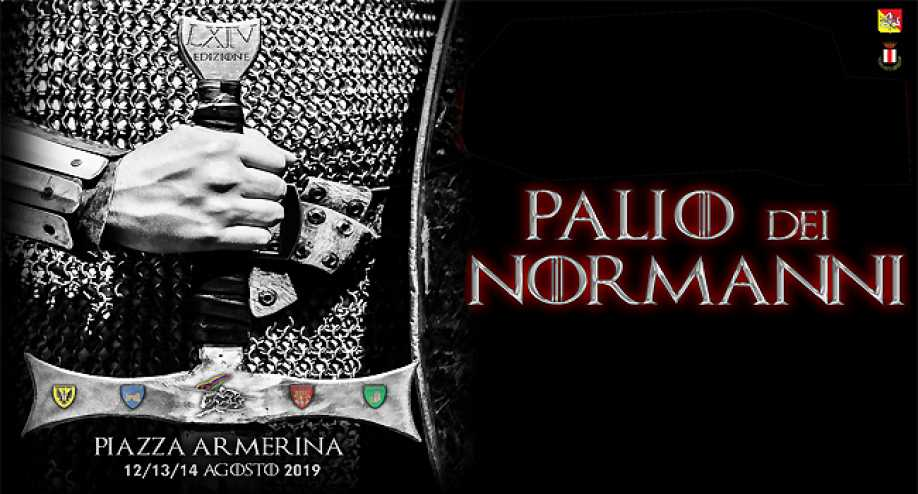 Poster of the Palio of Norman in Armerina Square