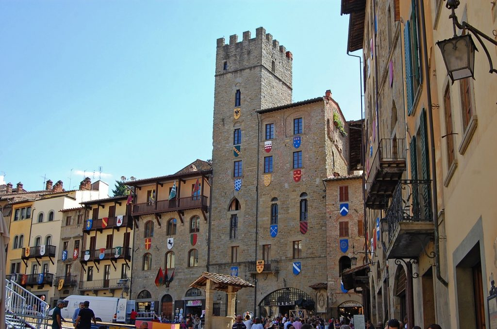 Arezzo in Tuscany