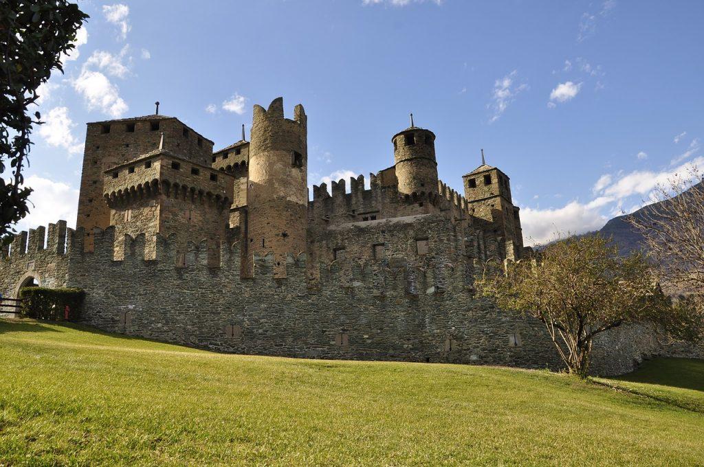 veduta del Castello di Fénis