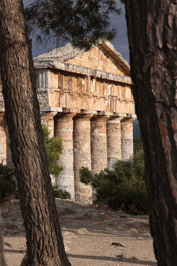Segesta - Il tempio in pietra