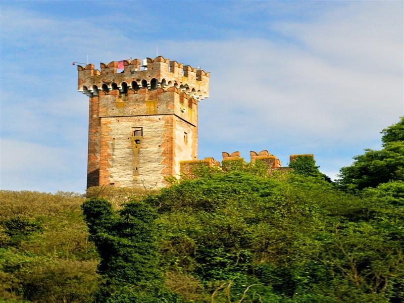 Scaliger castle of Borghetto sul Mincio