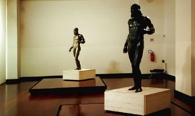 Calabria offers the opportunity to visit the Riace bronzes