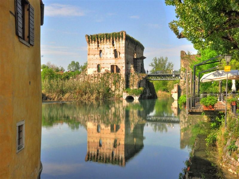 Visconti Bridge of Borghetto sul Mincio