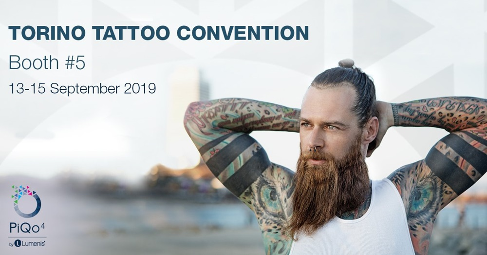 Torino tattoo convention -poster of the convention