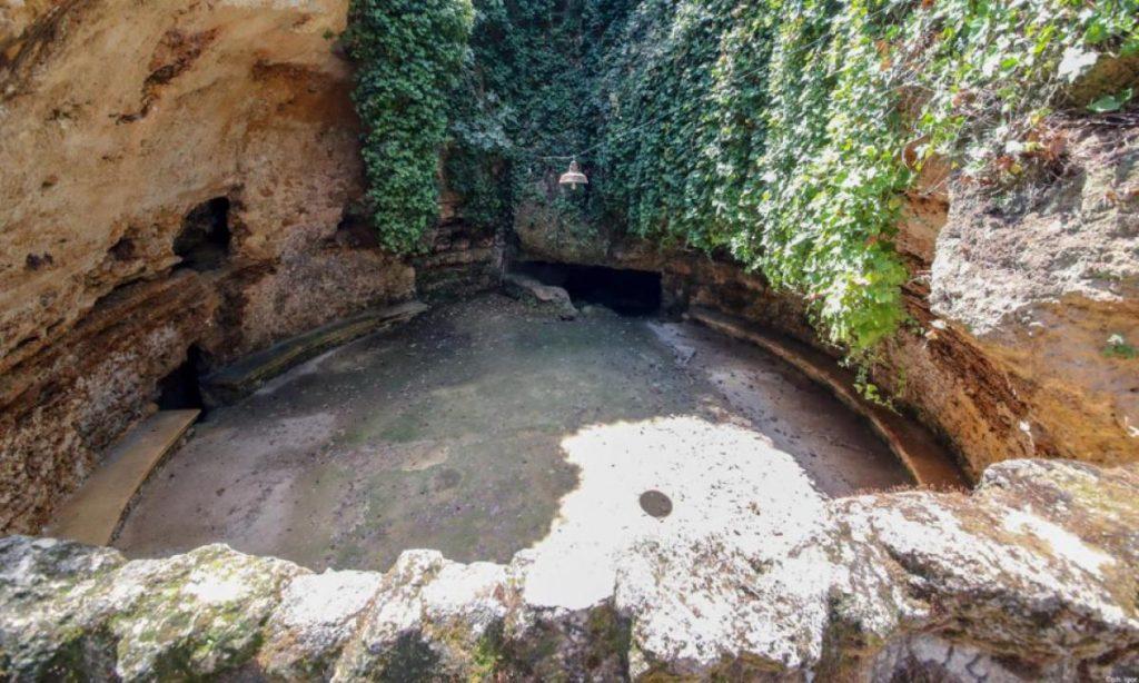 camera dello scirocco a villa Savagnone