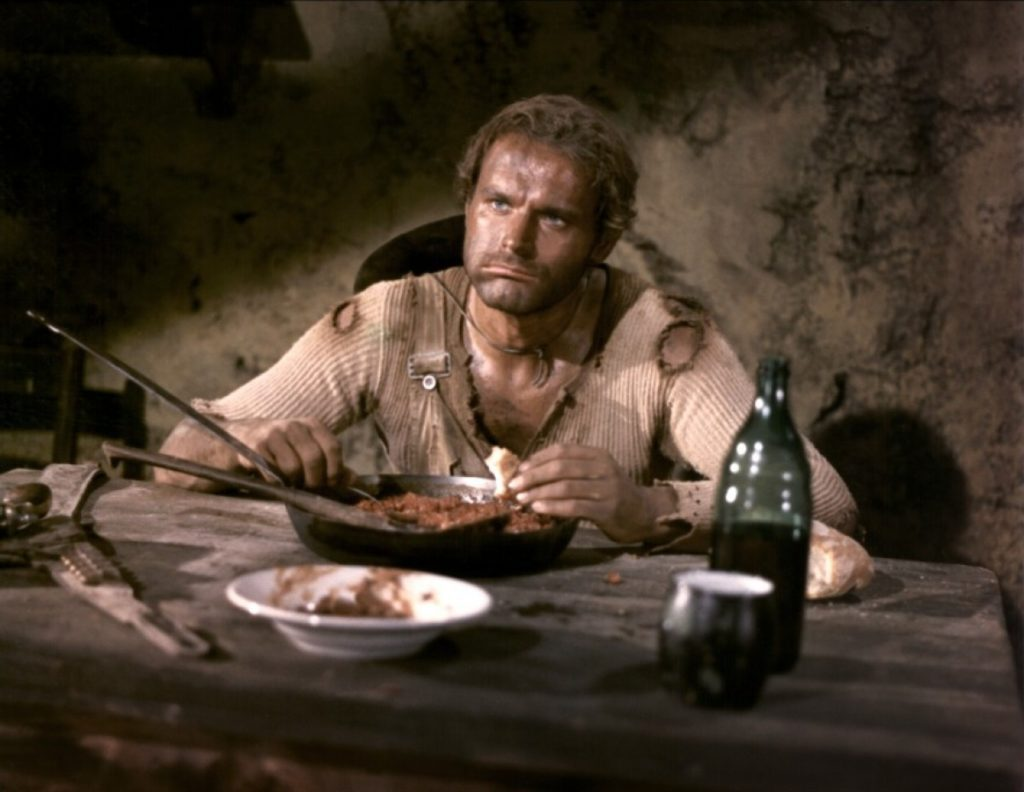 cinema e cucina italiana - terence hill