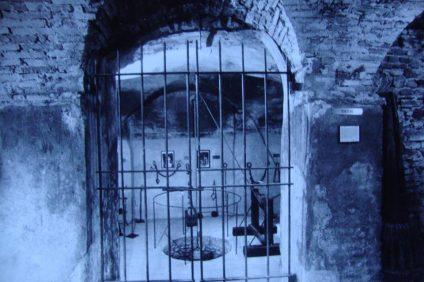sotterranei del castello di Sorci