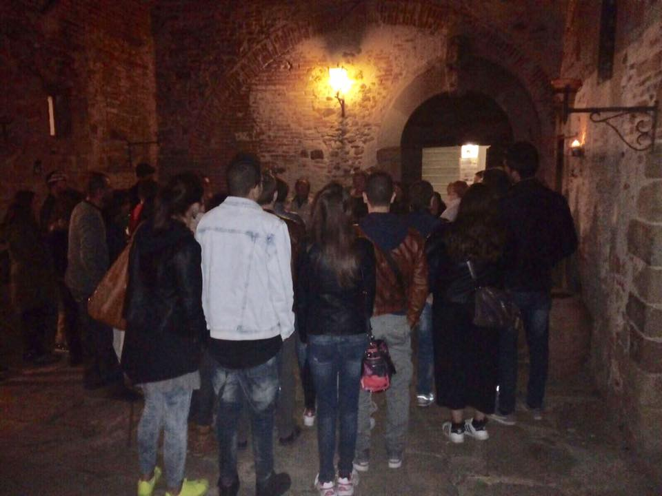 amos cartabia: night visit to the castle of Sorci