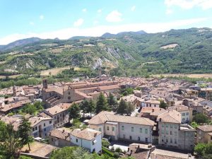 Bobbio located in Val Trebbia