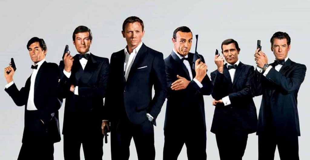 James Bond - the protagonists