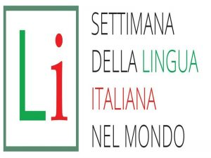 the logo week of Italian language