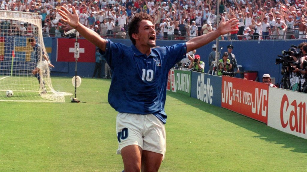 Roberto Baggio-Italian national team