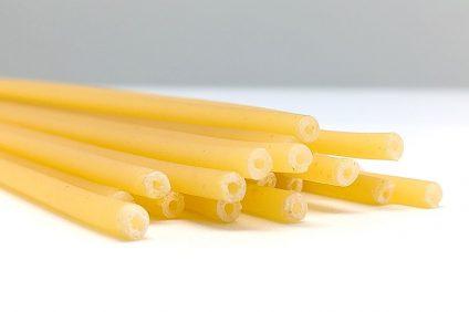 pasta straws - raw bucatini