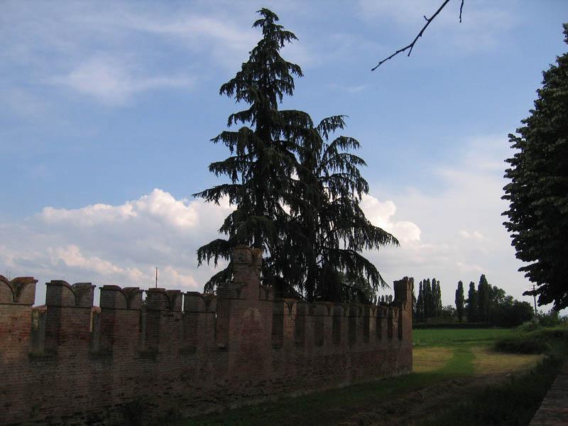 Mura di uno dei Castelli di Bologna