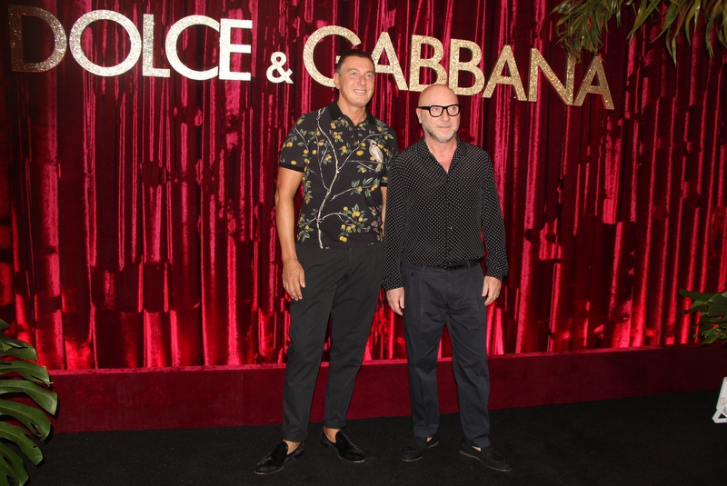 Dolce & Gabbana together on the red carpet