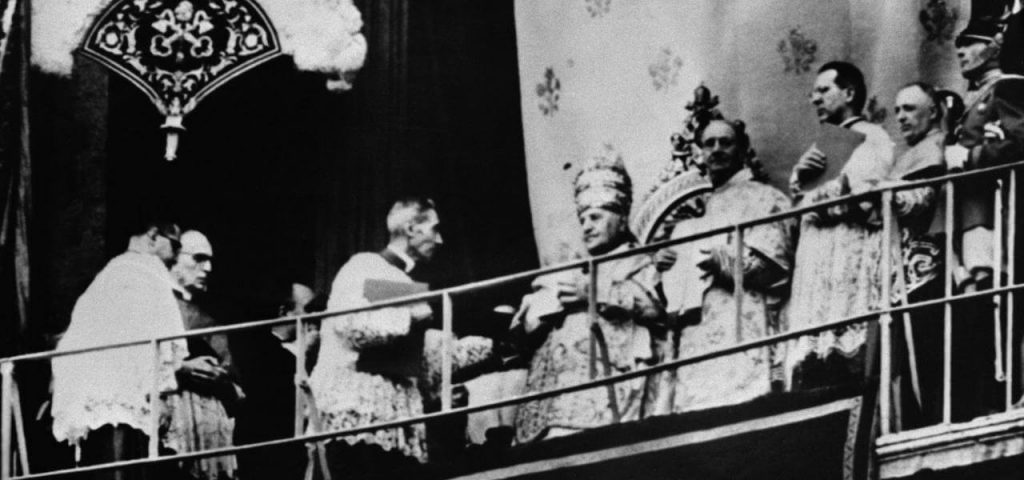 angelo roncalli elected pope in rome as pope John XXIII