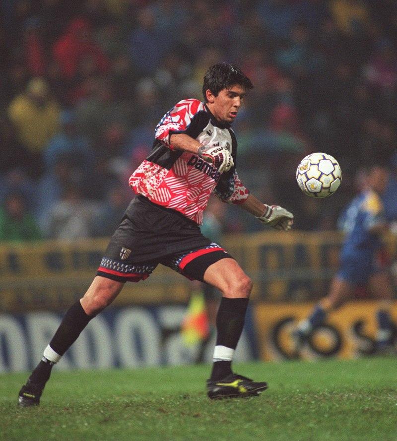 prima partita di Buffon in Serie A