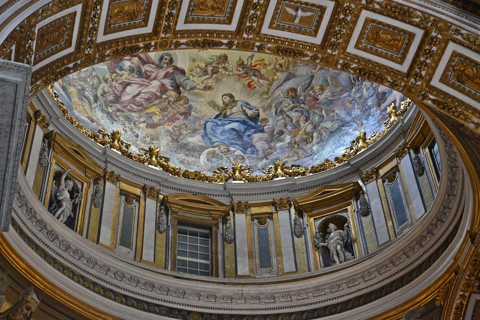 la basilica all'interno