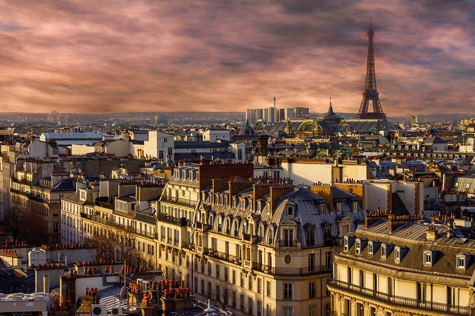 panorama parigino - veduta di Parigi
