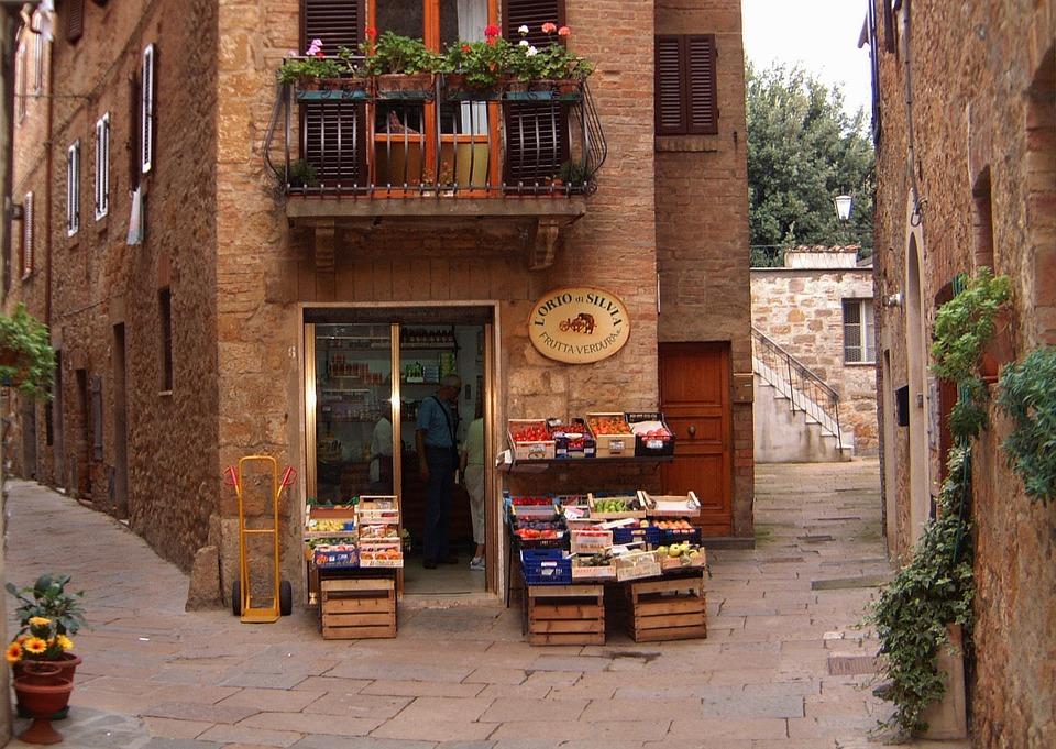 pienza ancient village