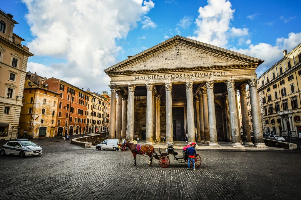 five best things to see in Rome: pantheon