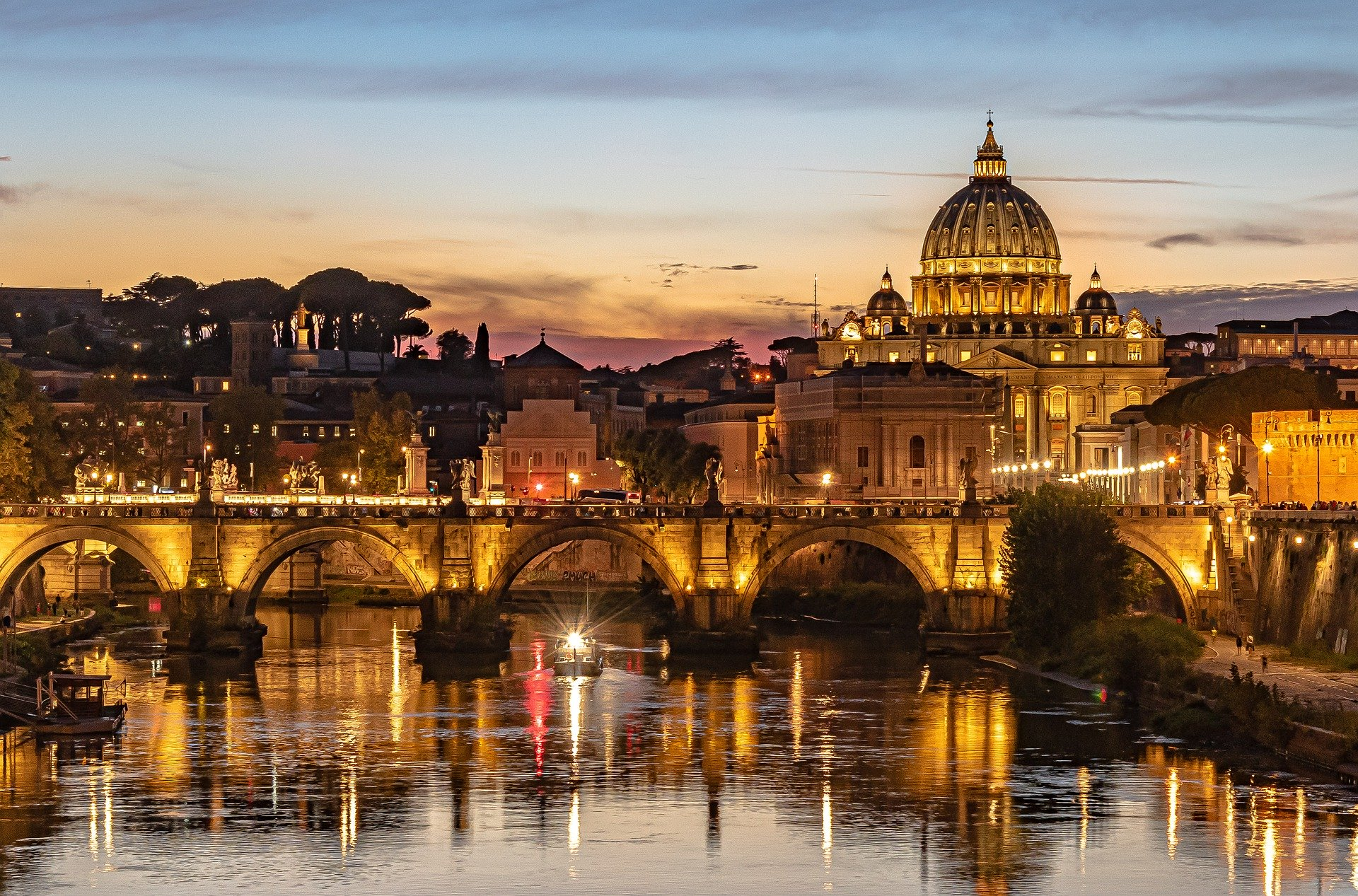 five best things to visit in rome, view of the city