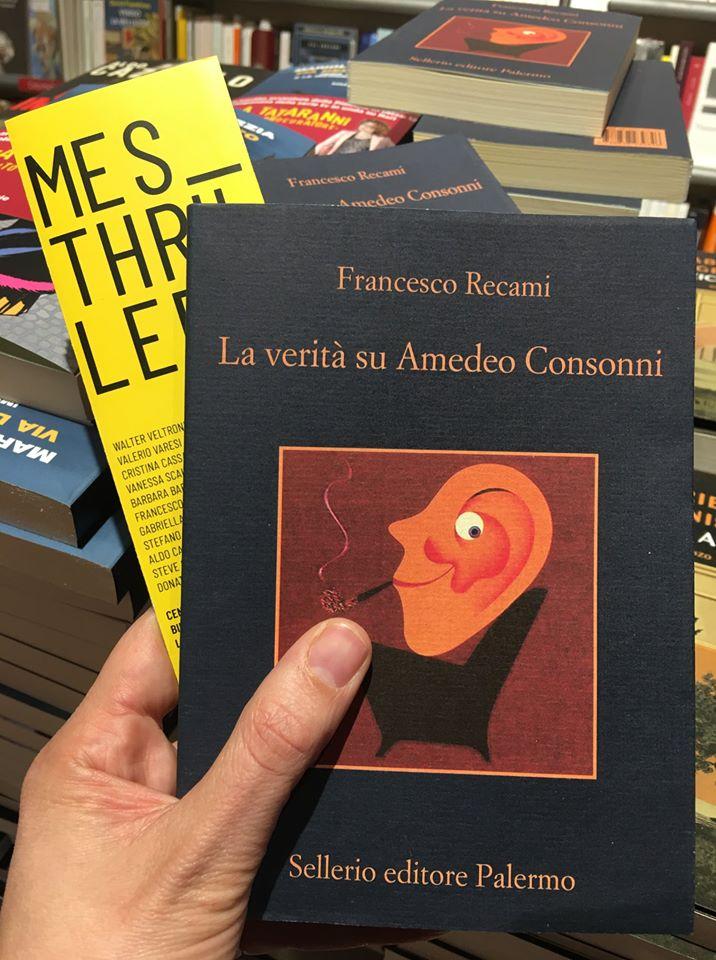 Mesthriller 2019. il nuovo libro di Francesco Recami.