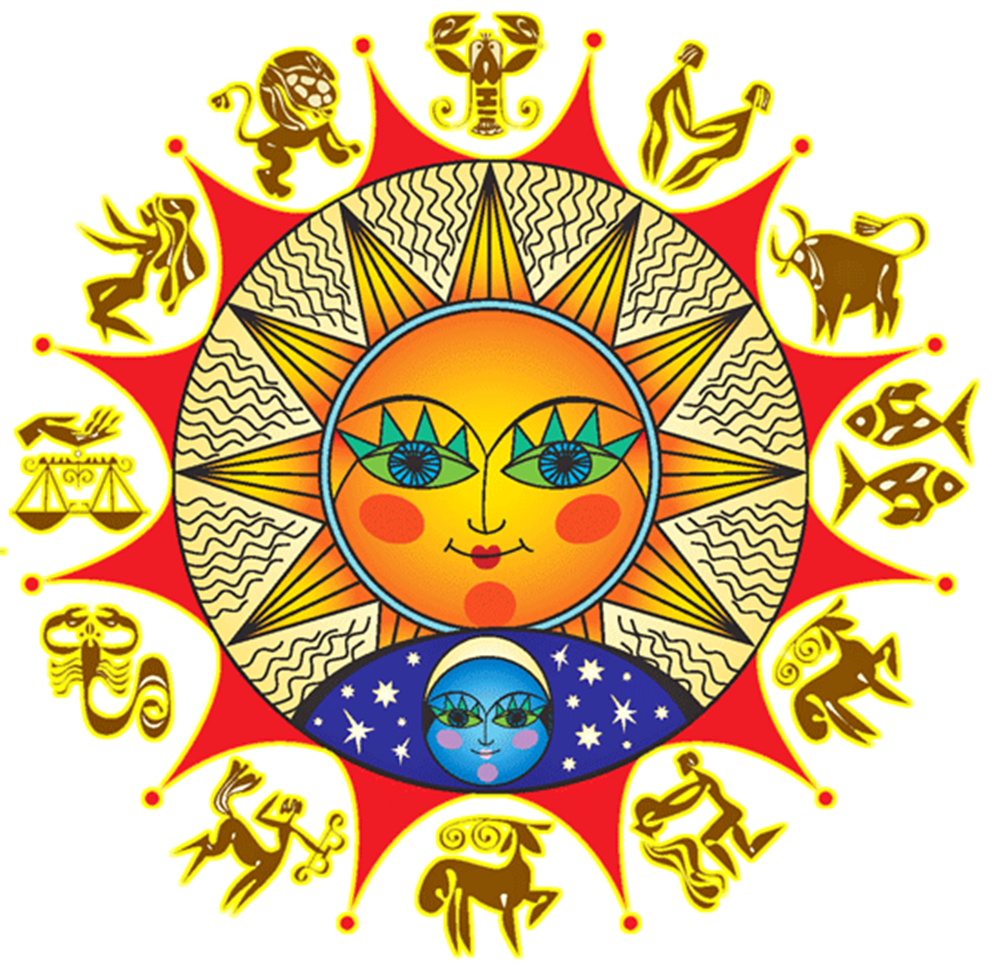 oroscopo 2020 - zodiaco stilizzato