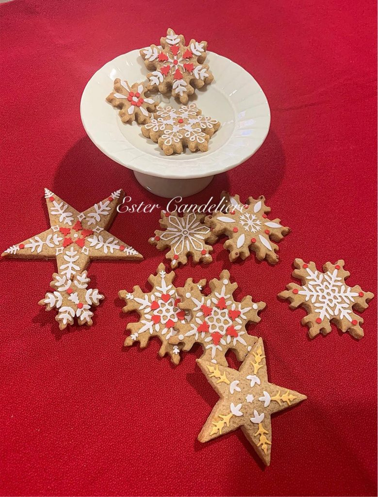christmas dinenr - christmas biscuits