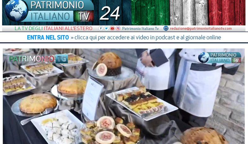 Patrimonio Italiano TV - immagine con prodotti tipici