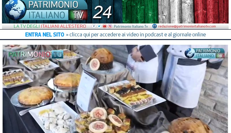 Patrimonio Italiano TV - image of typical foods