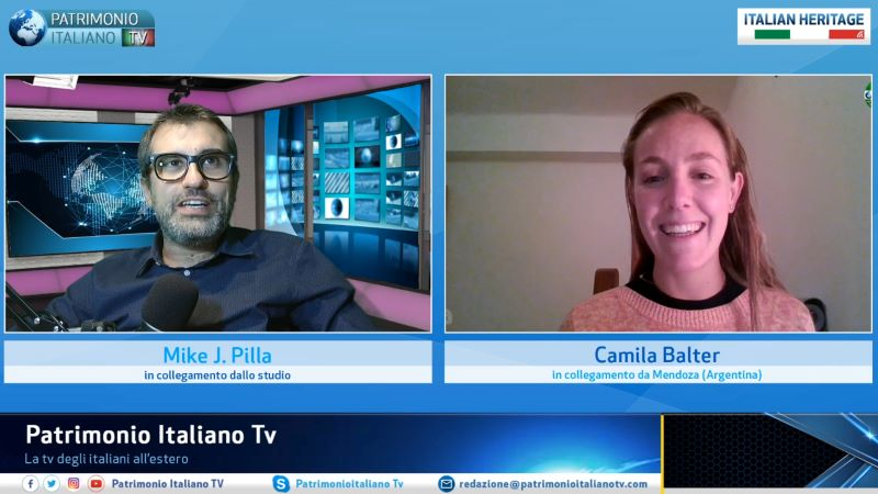Patrimonio Italiano TV - momento dell'intervista