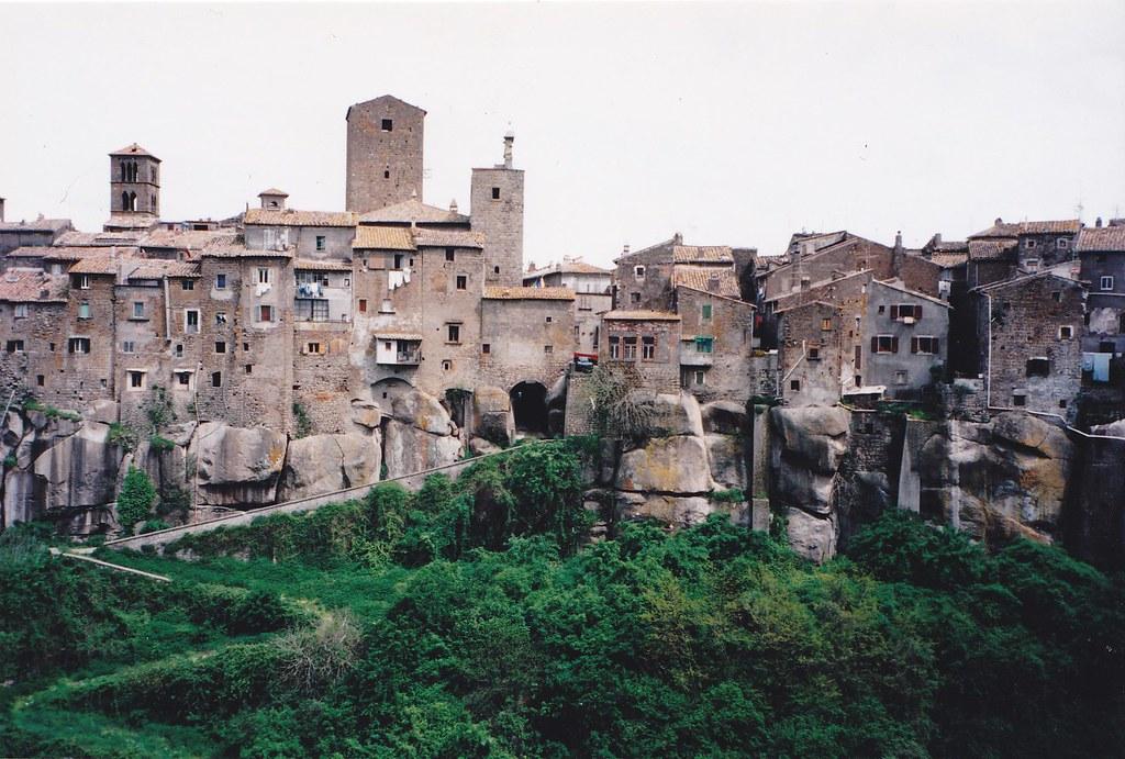 panoramica del borgo di Vitorchiano