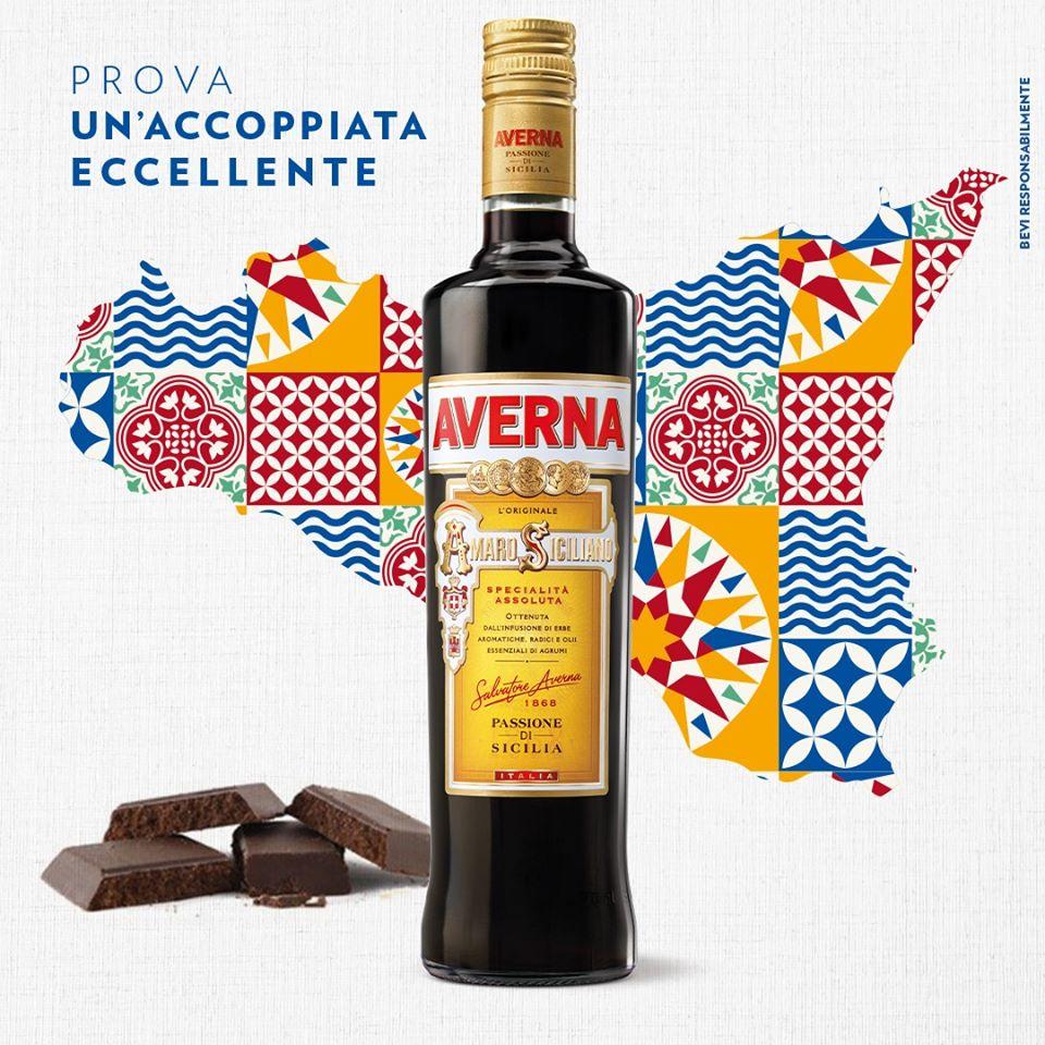 averna amaro of Trinacria