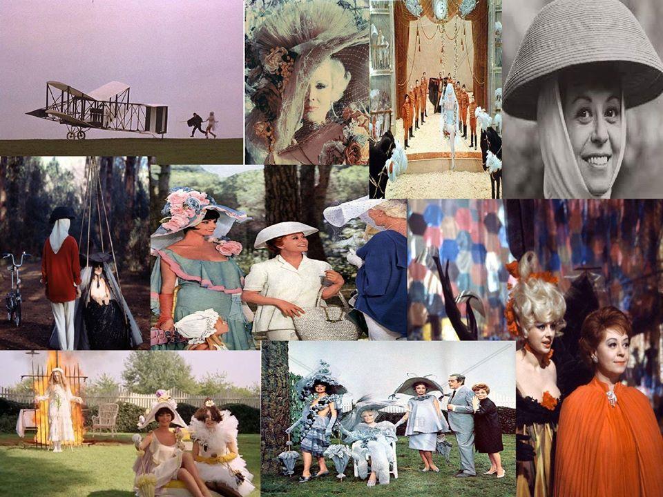 fellini e alcune foto dei suoi film