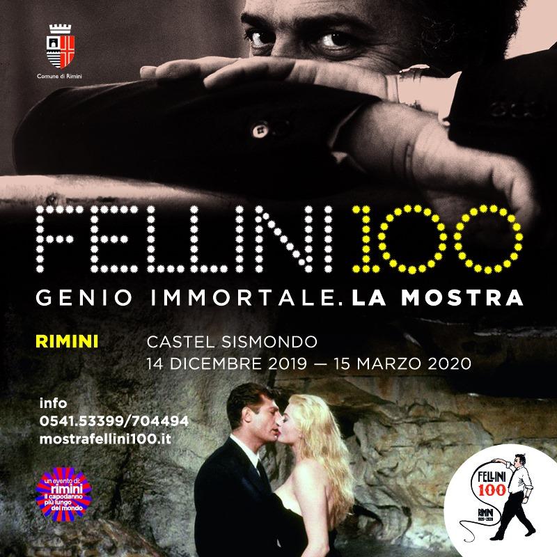fellini and the Rimini exhibition dedicated to the great genius of cinema