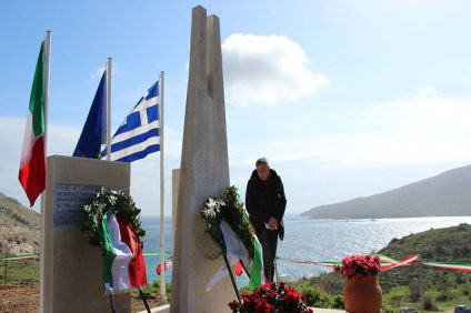 Giorno della commemorazione ai caduti a Patroklos