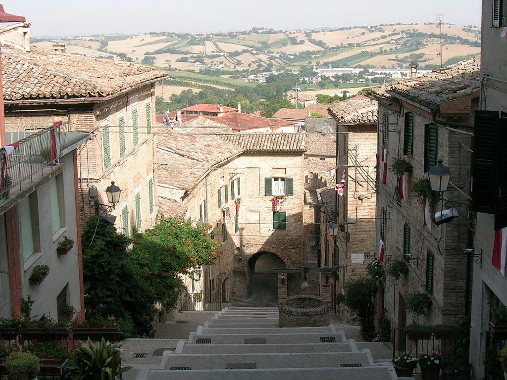 Borgo medievale di Corinaldo/ medival village